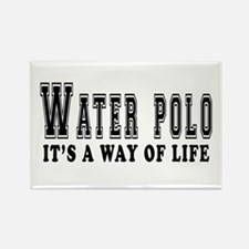 Waterpolo It's A Way Of Life Rectangle Magnet