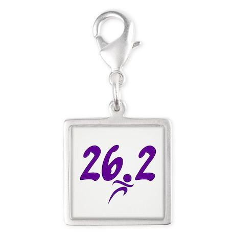 Purple 26.2 marathon Charms