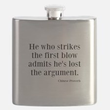 The First Blow Flask