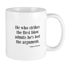 The First Blow Mug