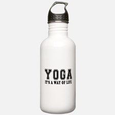 Yoga It's A Way Of Life Water Bottle
