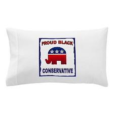 PROUD BLACK Pillow Case