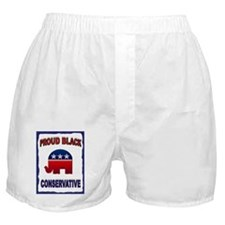 PROUD BLACK Boxer Shorts