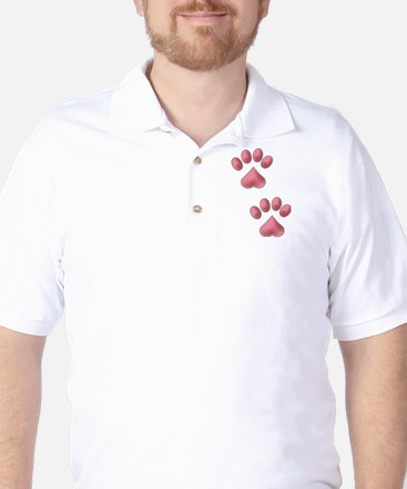 Two Paws Golf Shirt