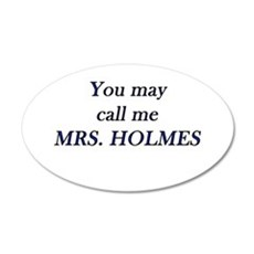 Mrs. Holmes Wall Decal