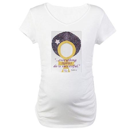 Gods Girls Rock-medium Maternity T-Shirt