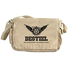 Destiel Quote Series 28 Messenger Bag