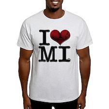 I Love MI-lfs T-Shirt