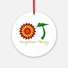 Flower power OT Ornament (Round)