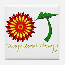 Flower power OT Tile Coaster