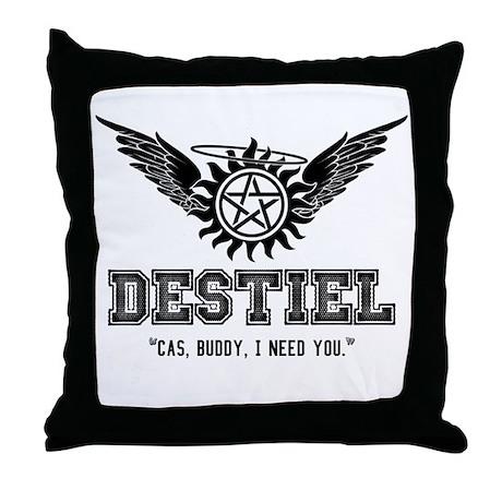 Destiel Quote Series 19 Throw Pillow
