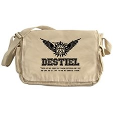 Destiel Quote Series 12 Messenger Bag