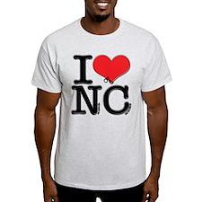 I Love Naughty-Chicks T-Shirt