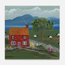 Dream Cottage Tile Coaster
