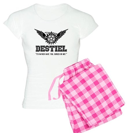 Destiel Quote Series 3 Women's Light Pajamas