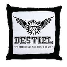Destiel Quote Series 3 Throw Pillow