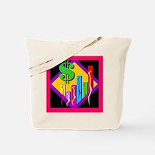 Colorful Bar Chart Tote Bag