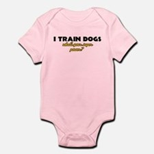 I Train Dogs what's your super power Onesie