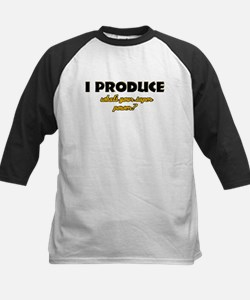 I Produce what's your super power Kids Baseball Je