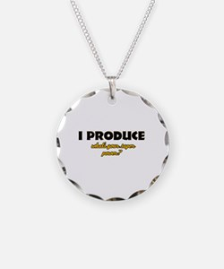 I Produce what's your super power Necklace