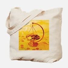 Golden Coins Tote Bag