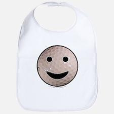 Golf Smiley Bib