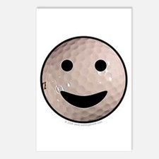 Golf Smiley Postcards (Package of 8)