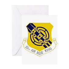 15th Air Base Wing Greeting Card