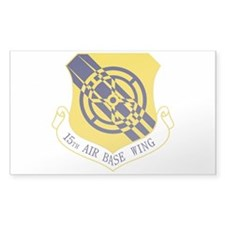 15th Air Base Wing Decal