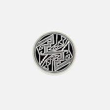 Mimbres Design 2 Mini Button