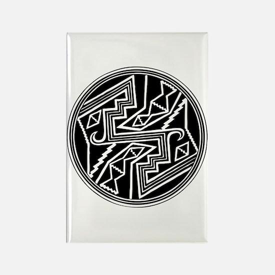 Mimbres Design 2 Rectangle Magnet