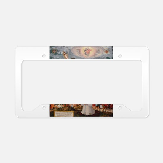 Curifixion and Ascension of Christ License Plate H