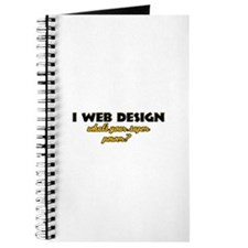 I Web Design what's your super powe Journal
