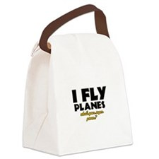 I Fly Planes what's your super power Canvas Lunch