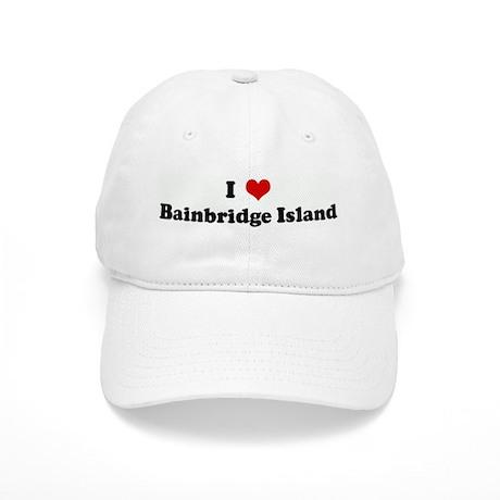 I Love Bainbridge Island Cap