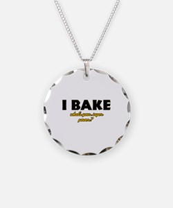 I Bake what's your super powe Necklace