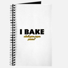 I Bake what's your super powe Journal