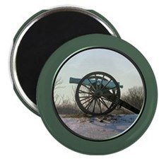Cannon in Winter Magnet