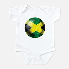 Jamaica Football Infant Bodysuit