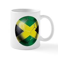Jamaican Soccer Ball Mug