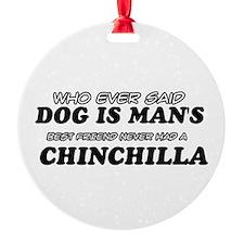 Chinchilla Designs Ornament
