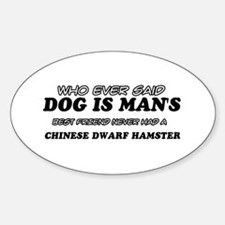 Chinese Dwarf Hamster Designs Decal