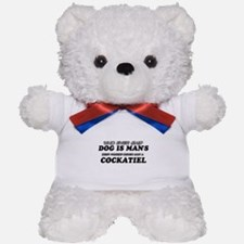Cockatiel Designs Teddy Bear