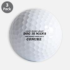Conure Designs Golf Ball