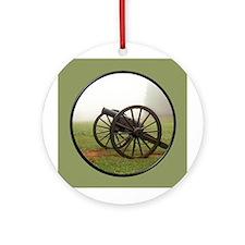 Cannon Ornament (Round)