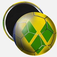 Saint Vincent Football Magnet