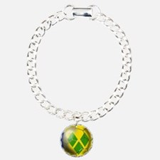 Saint Vincent Football Bracelet