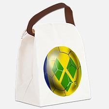 Saint Vincent Football Canvas Lunch Bag