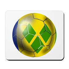 Saint Vincent Football Mousepad