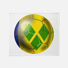 Saint Vincent Football Throw Blanket